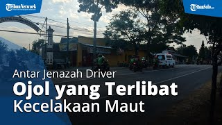 Puluhan Driver Ojol Iring-iringan Antar Jenazah Wawan yang Terlibat Kecelakaan Maut di Wonogiri