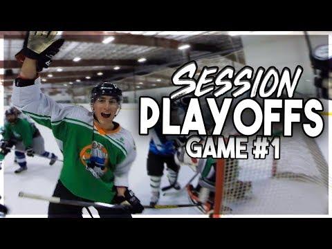GoPro Hockey | SESSION PLAYOFFS (GAME 1)