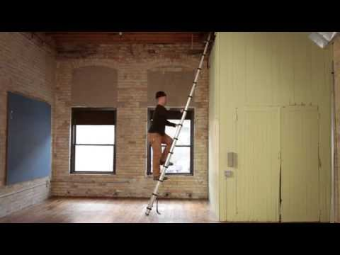 Aluminum Telescoping Ladder video thumbnail