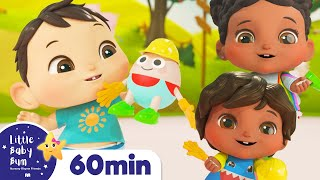 Humpty Dumpty Song | +More Nursery Rhymes & Kids Songs | ABCs and 123s | Little Baby Bum