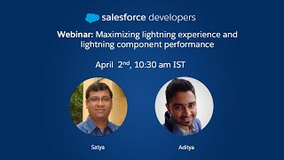 Maximizing Salesforce Lightning Experience and Lightning Component Performance
