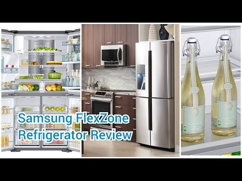 Samsung Refrigerator Review [French 4-Door Refrigerator with FlexZone]