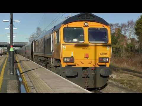 Acton Bridge Freight Variety 2nd February 2018