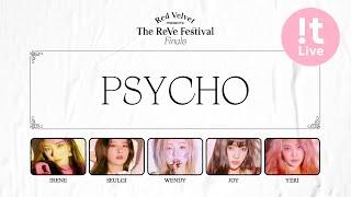 Red Velvet 레드벨벳 Psycho Lyrics Eng...