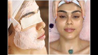 @Pautips Exfoliating & Hydrating Facial for Glowing Skin | ASMR Spa Noises + Relaxing