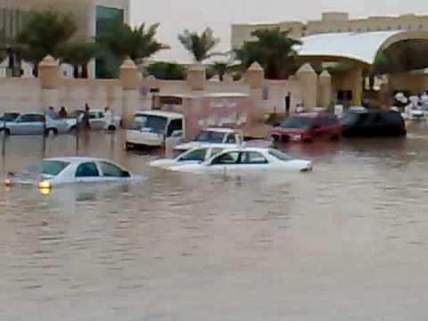 امطار مدينة الرياض الدائري الشرقي 1