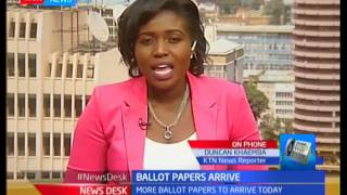 More ballot papers expected to arrive in the country