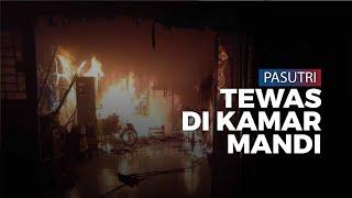 Pasangan Suami Istri Ditemukan Tewas Terbakar di Kamar Mandi