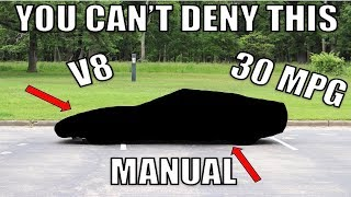 I Bought The Cheapest, Most Reliable & Fuel Efficient, Manual Trans V8 Sports Car In The World.