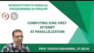 Computing sum: first attempt at parallelization