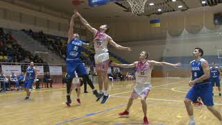 Эффектные данки Беликова – в видеообзоре матча Политехник – Одесса
