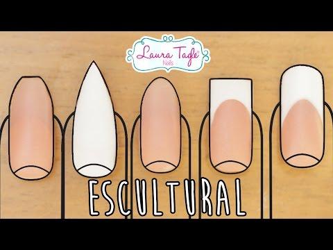 Las 5 puntas de Uñas más populares con Técnica ESCULTURAL