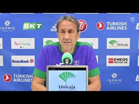 El Unicaja Málaga arranca la Eurocup con público en el Carpena