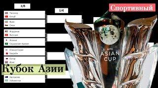 Футбол. Кубок Азии 2019.  Плей-офф. 1/8. Схема турнира. Результаты. Расписание. Катар – Ирак.