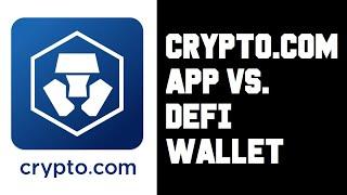 So nehmen Sie Geld von Crypto.com Defi Wallet ab