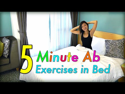 5-Minute AB Exercises in Bed!