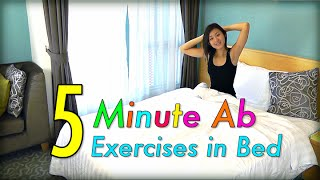5-Minute AB Exercises in Bed! by Joanna Soh Official