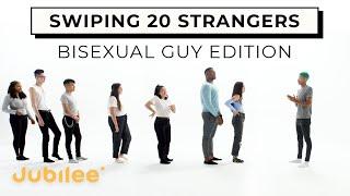 Bisexual Man Swipes 20 Men and Women