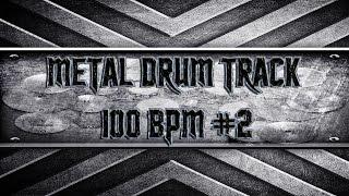 Deathcore Metal Drum Track 100 BPM (HQ,HD)