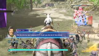 Dynasty Warriors 8 : Free Alliance |Having Fun with Arm Cannon & Crossbow