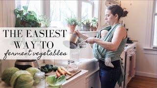 How To Ferment ANY Vegetable | LACTO FERMENTATION GUIDE