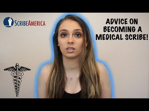 BECOMING A MEDICAL SCRIBE! HOW TO APPLY & ADVICE