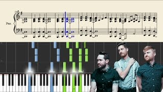 Jukebox The Ghost - The Great Unknown - Piano Tutorial + SHEETS