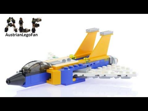 Vidéo LEGO Creator 31042 : L'avion à réaction