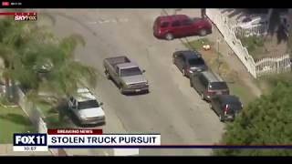 SUSPECTS IN CUSTODY: Following crash outs, risky police chase in LA