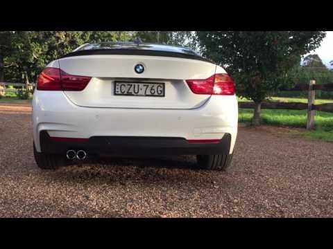 "Modified F32 BMW 4 series 20"" rims 2015 428i MSport coupe"