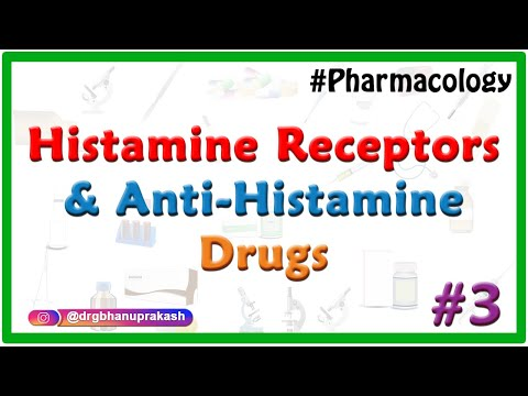 Pharmacology of Histamine , Histamine receptors and Anti-histamine Drugs : Part 3