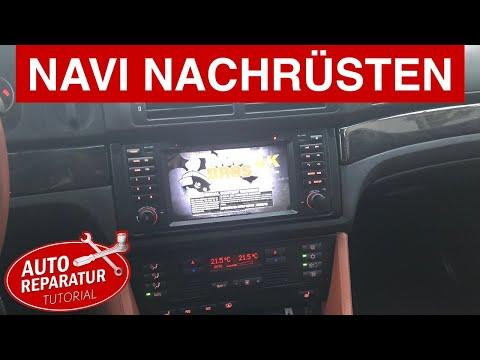 BMW NAVI Nachrüsten ( Wifi, Internet, DAB, Bluetooth, Aux, Video ) | DIY Tutorial