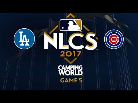 Hernandez powers Dodgers to World Series - 10/19/17