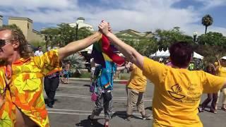 Flash Mob at the Orange County, CA Pride Festival