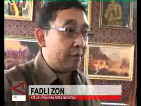 Pameran Keris Minang (Antara News Video)