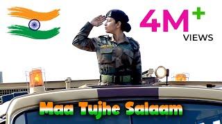 A.R. Rahman - Maa Tujhe Salaam | Vande Mataram A.R. Rahman | Independence Day Song A.R. Rahman