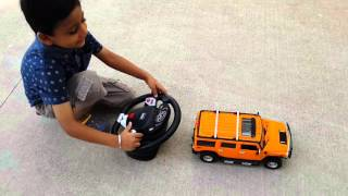Hummer RC 1:14 Demo Video by Adi, Avi & Vinay