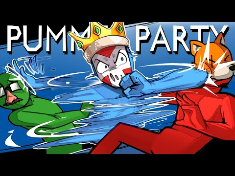 Pummel Party - SPINNING PUNCHES OF DOOM! (Fun Mini Games)