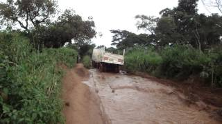preview picture of video 'Road from Aba to Vurra in the Democratic Republic of Congo'