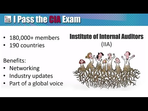 Why CIA Certification? The 3 Benefits - YouTube