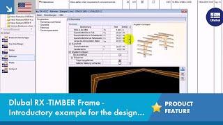 RX-TIMBER Frame: Design of Timber Frames acc  to EC 5