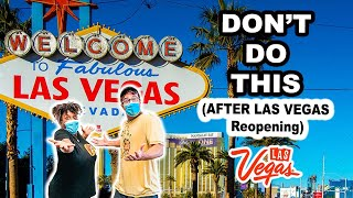 What You Should NOT Do in LAS VEGAS (Don't make these MISTAKES!)