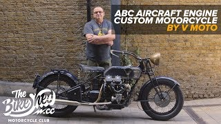 Vivs Aircraft Engine ABC Custom Motorcycle
