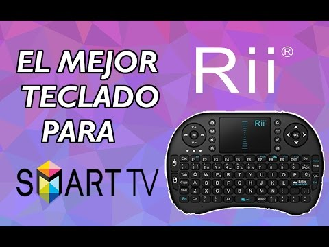 EL MEJOR TECLADO PARA SMART TV! - Review Miniteclado Rii i8