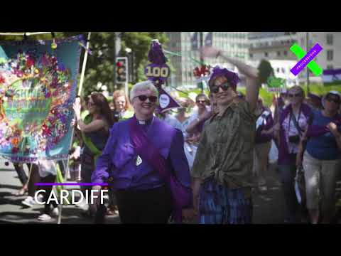 PROCESSIONS 2018 – A mass artwork celebrating 100 years of votes for women.