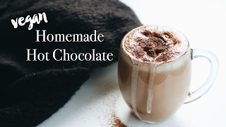 Vegan Hot Chocolate Recipe (dairy-free)