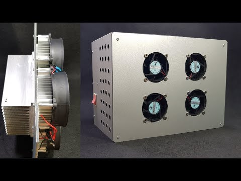 Build a Air Conditioner Using Peltier