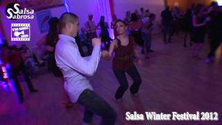 Fred Dancefloor & Roxane - social dance @ Salsa Winter Festival 2012