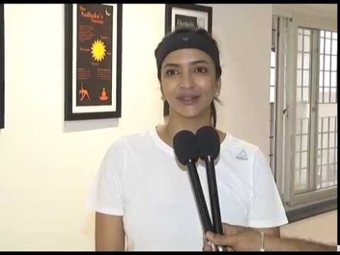 Manchu Lakshmi Prasanna About Her New Movie Wife of Ram