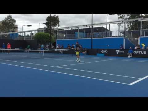 Ryan Nijboer bij Australian Open ook in het dubbelspel uitgeschakeld